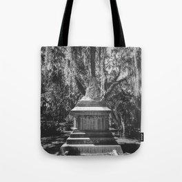 Bonaventure Cemetery Statue Tote Bag