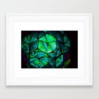 third eye Framed Art Prints featuring Third Eye by Lotus Effects