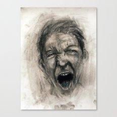 Scream #16 Canvas Print