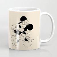 snatch Mugs featuring Mickey O'Neil by Woah Jonny