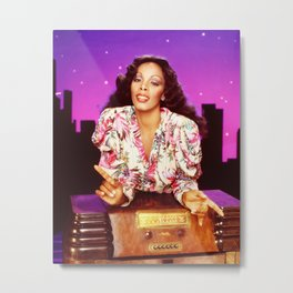 Donna Summer - On The Radio Metal Print