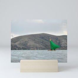 Titicaca sail 2 Mini Art Print