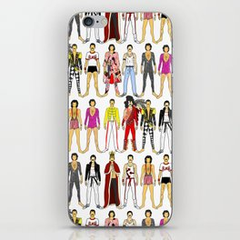 Outfits of Freddie Fashion iPhone Skin