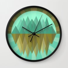Rocks rock Wall Clock