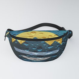 Flag of Reno - Raindrops Fanny Pack