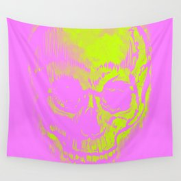 Retro Skull Wall Tapestry
