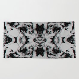 Rorschach Beach Towel