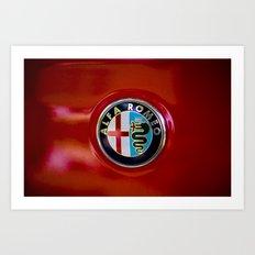 Alfa Romeo Art Print