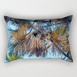 Whispering Pines in the Autumn Light Rectangular Pillow