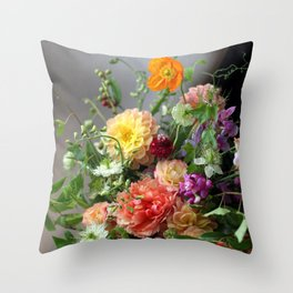 Flower Design 11 Throw Pillow