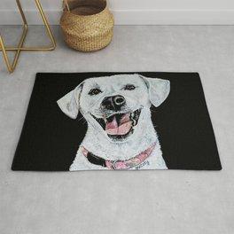 Smiling Dog Rug