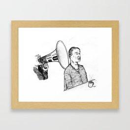 Le Parti De La Presse Et De L'Argent (PPA) Framed Art Print