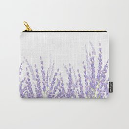 Lavender in the Field Carry-All Pouch