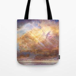 Sky-High Tote Bag