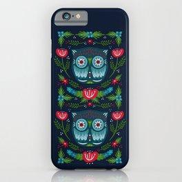 Festive Owl | Holiday iPhone Case