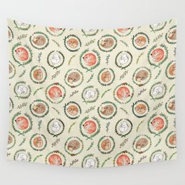 Hygge Forest Animals Wall Tapestry