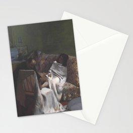 Edgar Degas - Le Pédicure.jpg Stationery Cards