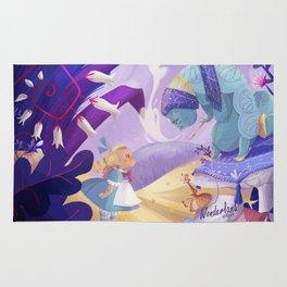 Alice in Wonderland Rug