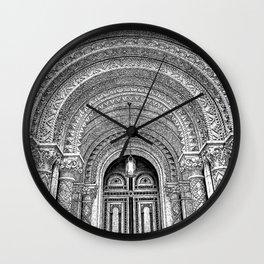 Masonic Temple.  Wall Clock
