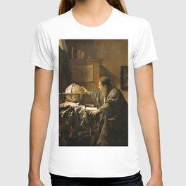 "Johannes Vermeer ""The Astronomer"" T-shirt"