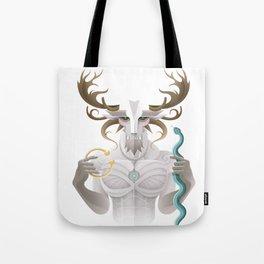 Cernunnos / Animal Gods Tote Bag