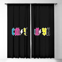 CMYK Blackout Curtain