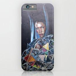 Grace Jones Mural iPhone Case