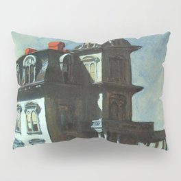 The House By The Railroad By Edward Hopper 1925 Pillow Sham