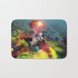 Jellyfish Reef Bath Mat