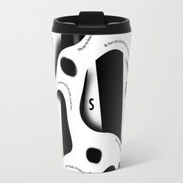 William Shakespeare. Sonnet 46 Travel Mug