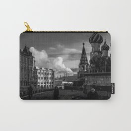 Moscow city in Black and white Carry-All Pouch