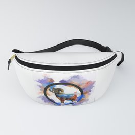 CO Big Horn Sheep Sunset Fanny Pack