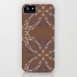 Pattern brown decoration iPhone Case