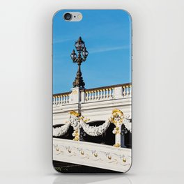 Pont Alexandre IIi - Paris, France iPhone Skin