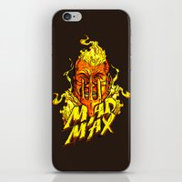 mad iPhone & iPod Skins featuring Mad by Demonigote