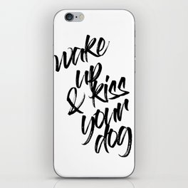Kiss your Dog iPhone Skin