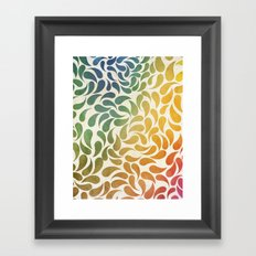 Petal Burst #29 Framed Art Print