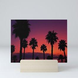 Sunset Is My Favourite Colour Mini Art Print