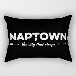 Naptown | the city that sleeps | Indianapolis Rectangular Pillow