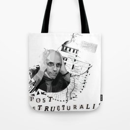 Michel Foucault Tote Bag