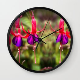 Fucshia Wall Clock