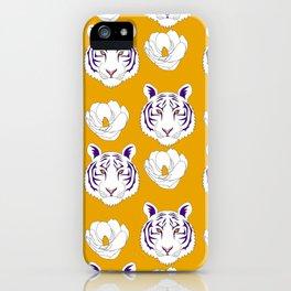 LSU yellow iPhone Case