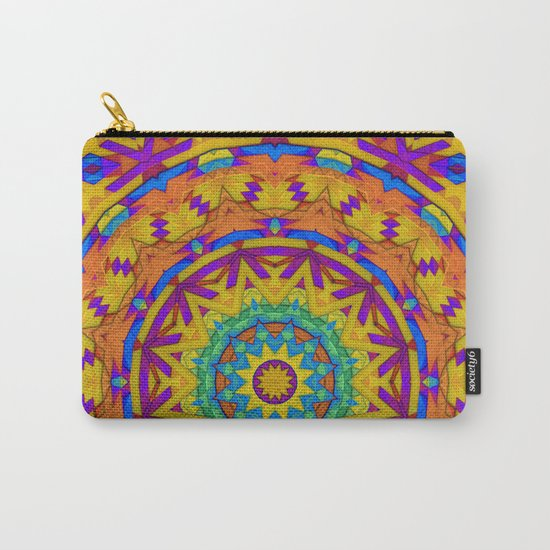 Colorful Geometry Carry-All Pouch