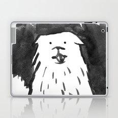fluffy dog Laptop & iPad Skin