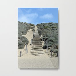 Carol Highsmith - Steps in the Sand Metal Print