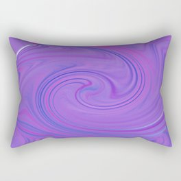 Purple daze 3 Rectangular Pillow