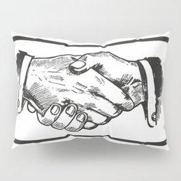 Handshake Pillow Sham