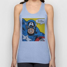 Superhero No. 29 Unisex Tank Top