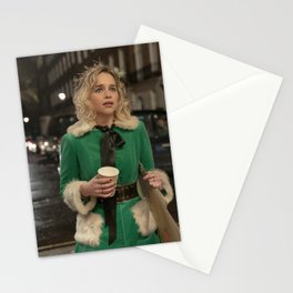 Movie Last Christmas Emilia Clarke Stationery Cards