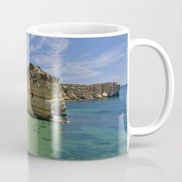 Small cove on the Algarve, Portugal Coffee Mug